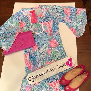 LP- Delancy Dress, size L multi sink or swim